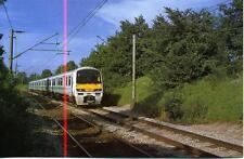 stansted express class 322 4 wagen emu nach london liverpool street 1990s postkarte