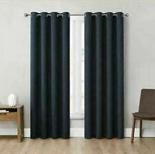 """Eclipse 52"""" x 84"""" Absolute Zero Curtains, 2-Pack (Kimball Dusk)"""