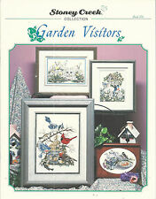 Garden Visitors Pattern Book 156 Counted Cross Stitch 1996 Birds