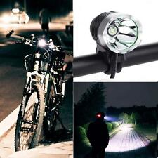 3000 Lumen USB-powerd CREE XM-L T6 LED Bike Bicycle Headlight Headlamp Torch SP-