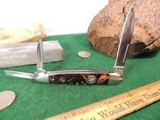 MINT & MARVELOUS IN BOX FROST FOLDING POCKET KNIFE BEAVER CREEK WHITTLER
