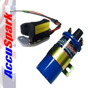 Ford Essex V6 Stealth Electronic ignition kit /AccuSpark B Sports coil Kit18CB