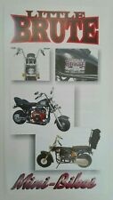Prospectus Catalogue Brochure Moto Little Brute 2000 English