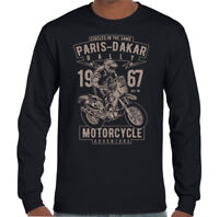 París Dakar Rally Hombre Motocross Camiseta Moto Motox Moto Dirt Bike