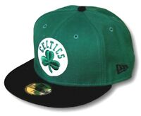 New Era 59Fifty NBA Boston Celtics Fitted Baseball Cap Hat Select Size