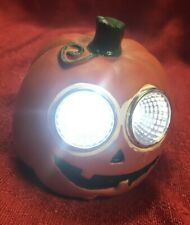 Halloween Solar Pumpkin Light Up LED Eyes Outdoor Yard Decor Pathway Markers