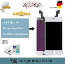 Display für iPhone 5S mit Retina LCD Glas Scheibe Bildschirm Front Weiß White