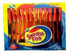 1X Spangler Swedish Fish Flavored Candy Canes 5.3 oz, X-2020, Seasonal, Limited