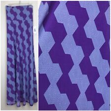 LuLaRoe SILKY purple Lavender Maze Maxi Skirt Strapless Dress SZ SMALL CC246