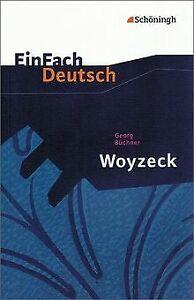 EinFach Deutsch Textausgaben: Georg Büchner: Woyzeck: Dr... | Buch | Zustand gut