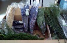 lot de mousse et plante végétale stabilisée - gros lot