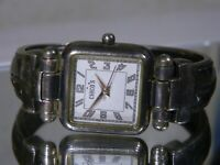 Women's Chico's Antiqued Silver Spring Loaded Watch. New Battery 2 Year Warranty