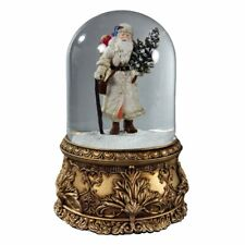 Santa Musical Domed Water Globe San Francisco Music Box