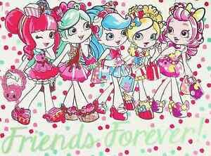 """Friends Forever - Shopkins Shoppies Mini Poster 8"""" x 11"""""""