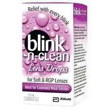 Complete Blink-N-Clean Eye Drops For Extended Wear Lenses 15ml - Free Shipping