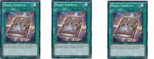 Magic Formula - GLD4-EN044  3 X Common Limited Ed Mint/NM Yugioh