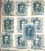 Spain Lot Acz, edif 315A, Alfonso XIII Vaquer, LUJO, good (10 und.) aprx. 350€
