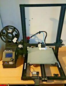 Creality CR10S 300x300x400 3D Printer Quiet fans,mods, webcam & octoprint server