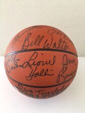 Upper Deck Hall Of Famers Autograped Spalding Official Basketball W/COA#