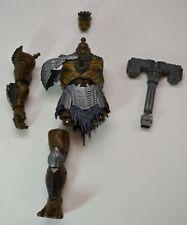 Marvel Legends Cull Obsidain BAF Head, Torso and Right Arm&Leg, hammer parts lot