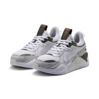New PUMA RS-X Trophy Trainers Shoes Sneakers - White/Bronze(369451-02/36945102)