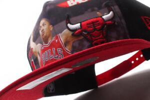 Youth's New Era Chicago Bulls NBA Derrick Rose Adjustable Snapback Cap OB