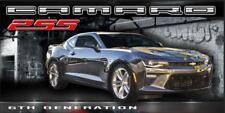Chevrolet Chevy 6th Gen Camaro 2Ss Nightfall gray Vinyl Banner Sign Garage Art