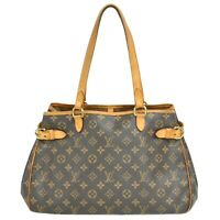 Louis Vuitton Batignolles Horizontal M51154 Monogram Shoulder Tote Hand Bag LV