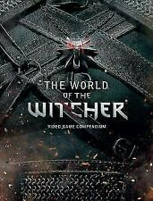 THE WORLD OF THE WITCHER: VIDEO GAME COMPENDIUM~ DARK HORSE HC NEW