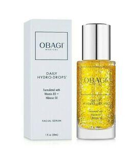 Obagi Daily Hydro Drops Facial Serum with B3 +Hibiscus Oil 30ml / 1oz