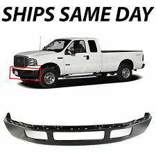 NEW Primered - Steel Front Bumper 2005-2007 Ford F250 F350 Super Duty W/o Flares