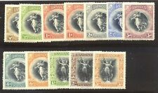 BARBADOS #140-51 Mint - 1920 Victory Set