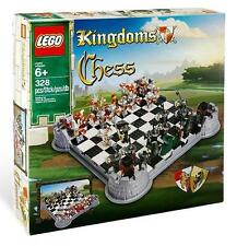 Lego Knights Kingdom Chess Set NISB 853373 Castle King Queen Wizard Minifigures