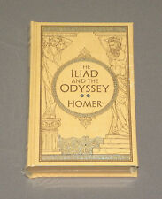 Homer's The Iliad & The Odyssey Hardcover Leather Book