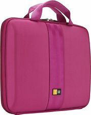 "CASE LOGIC HARD EVA CASE MACBOOK AIR 7""- 11"" TABLET NOTEBOOK LAPTOP iPAD PINK"