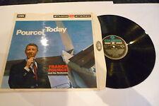 FRANCK POURCEL - POURCEL TODAY - 1967 UK Vinyl LP