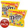 2 x M&M'S PEANUT PARTY PACK M&M CHOCOLATE CANDIES SNACK SWEETS LOLLIES BULK 1kg