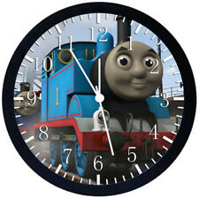 Thomas Train Black Frame Wall Clock Nice For Decor or Gifts W365