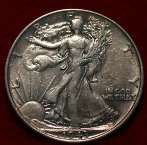 1943 Philadelphia Mint Silver Walking Liberty Half