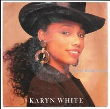 "Karyn White Secret Rendezvous, 7"" Vinyl, 1989"