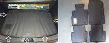 Mazda CX-3 Rear Rubber Cargo Tray and a Set of 4 All Weather Floor Mats