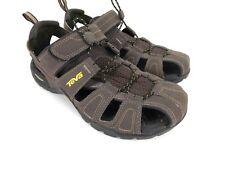 Teva Sandal Strap Brown Walking Outdoors Hiking Camping  Shoes Size 9 Mens