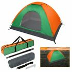 2 Person Camping Tent Waterproof Room Folding Outdoor Hiking Backpack Fishing