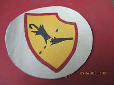 WWII LUFTWAFFE FIGHTER  3 /JG 52 INSIGNIA  JACKET PATCH