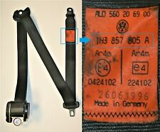 VW Golf MK3 Seat Belt Passengers Left Side Rear 1H3 857 805 A