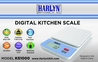 Harlyn Multi-function Digital Food & Kitchen Scale - Ultra Thin & Light  5 LB