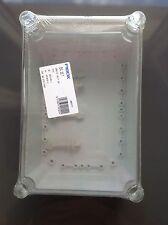 fibox IP67 enclosure clear lid 280 x 190 x 130 EKJB130T EKJVT Electrical Box X5