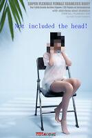 TBLeague 1/6 S45A Flexible Girl Suntan Body Metal Skeleton 12'' Figure W/Clothes