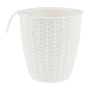 Self-watering Plant Flower Pot Planter Home Decor Indoor Outdoor White M