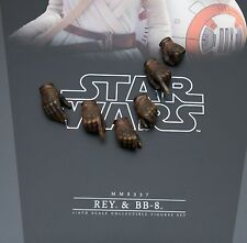 Hot Toys New Star Wars Force Awakens Rey Gloved Hands 1/6 MMS337 Military